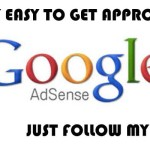 How I got approved in Google Adsence